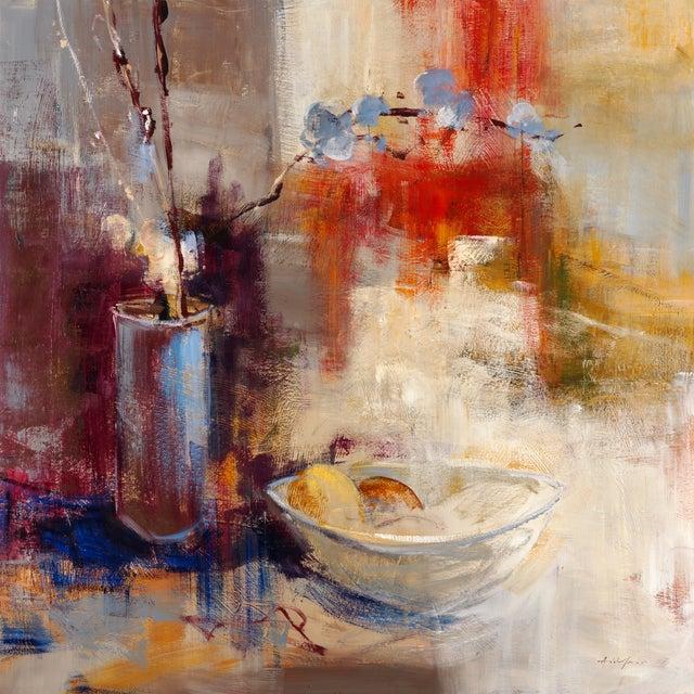 "Simon Addyman ""Still Life III"" Painting - Image 1 of 2"