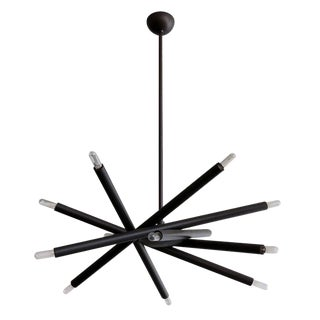 Gallery L7 Spiral Orb Chandelier For Sale