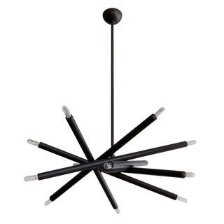 Gallery L7 Spiral Orb Chandelier For Sale