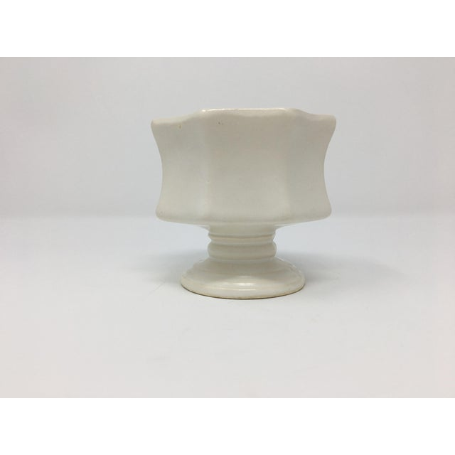 Mid-Century Modern Winter White Pottery Collection - 3 Pieces For Sale - Image 10 of 13