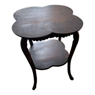 19th Century Traditional Oak Center Table For Sale