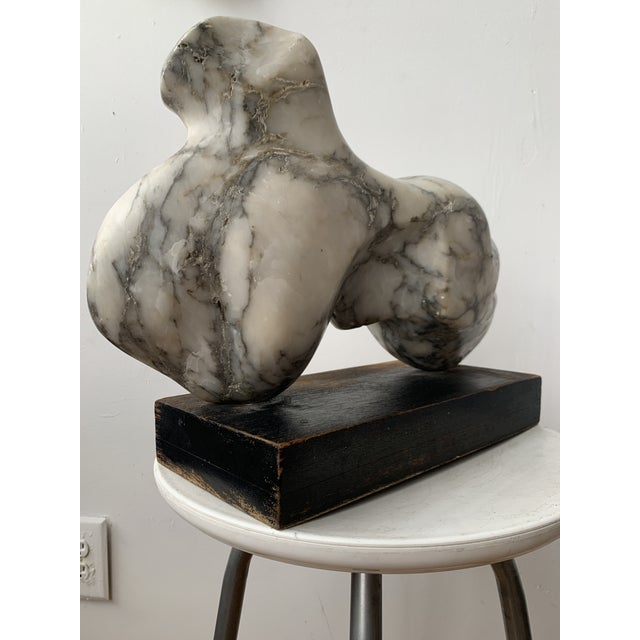 Vintage Abstract Marble Sculpture For Sale - Image 11 of 13