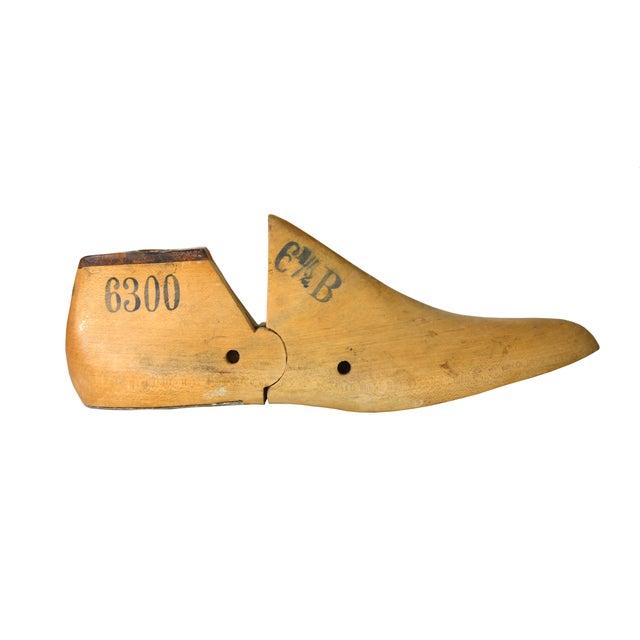 Vintage Cobbler's Wooden Shoe Form - Image 1 of 4