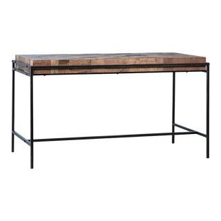 Modern Pine Parquet Desk For Sale