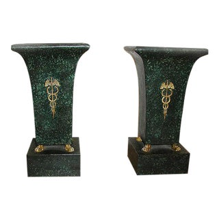 Pair of Urns, French C1825 For Sale