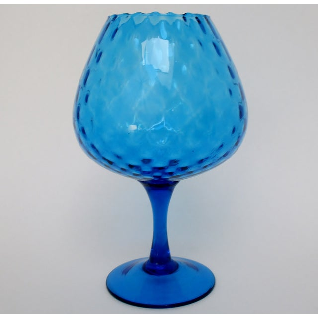 Vintage Italian Goblet Vase For Sale - Image 4 of 6