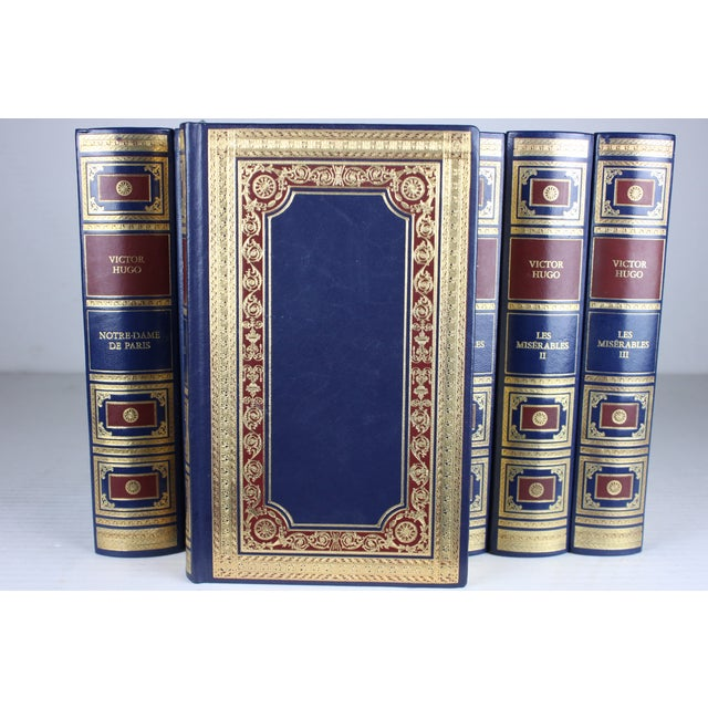 Victor Hugo French Books - Set of 8 - Image 3 of 3