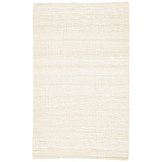 Jaipur Living Hutton Natural White Area Rug - 10′ × 14′ For Sale