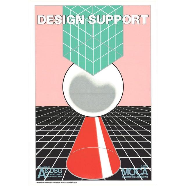 John van Hamersveld-Design Support-1980 Lithograph For Sale