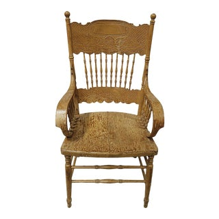 Armchair - Vintage Wooden For Sale