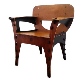 Modern David Kawecki Puzzle Chair Vintage