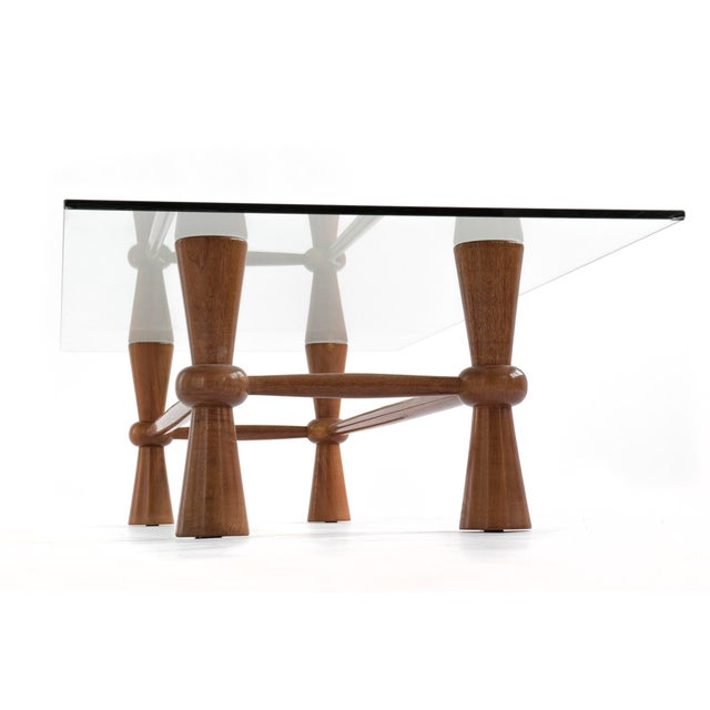 Mid-Century Modern American Crafted Coffee Table For Sale - Image 3 of 5