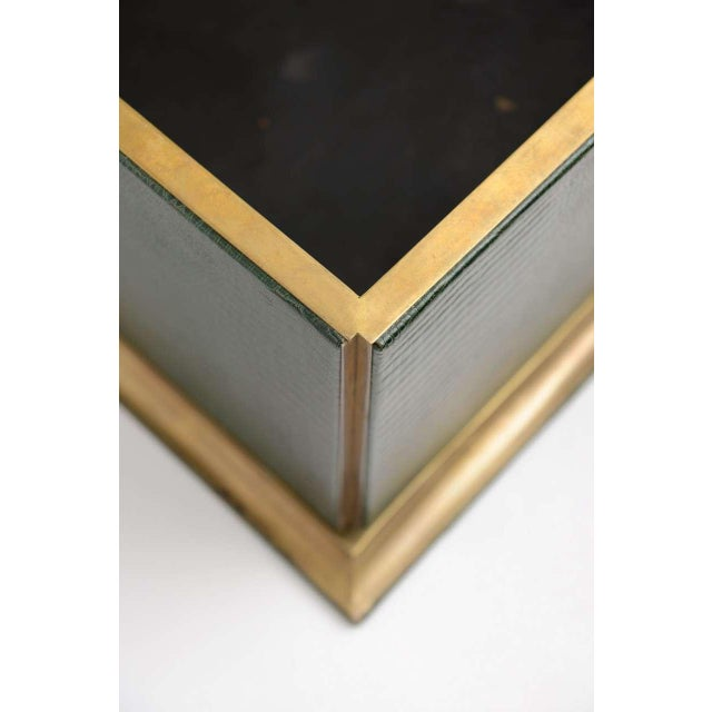 Ornamental Emblazoned Brass & Ivory Elephant Box For Sale In Miami - Image 6 of 8