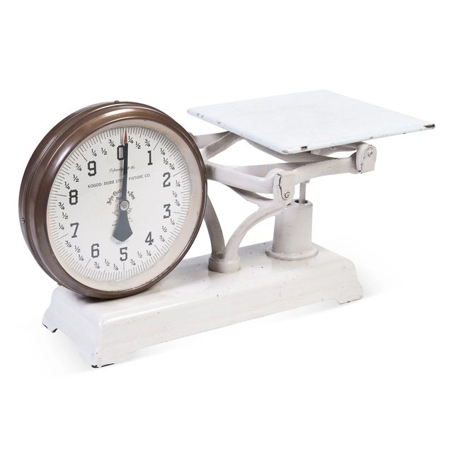 Vintage 2-Sided Counter Scale - Image 4 of 6