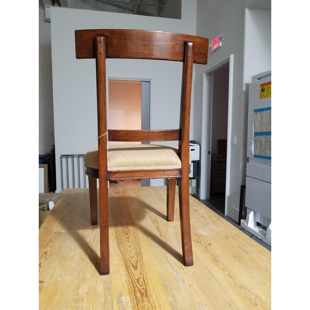 holland co macrae walnut side chairs a pair chairish