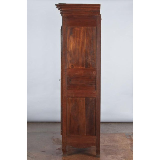 French Louis XV Walnut Armoire, Circa 1800s - Image 9 of 11