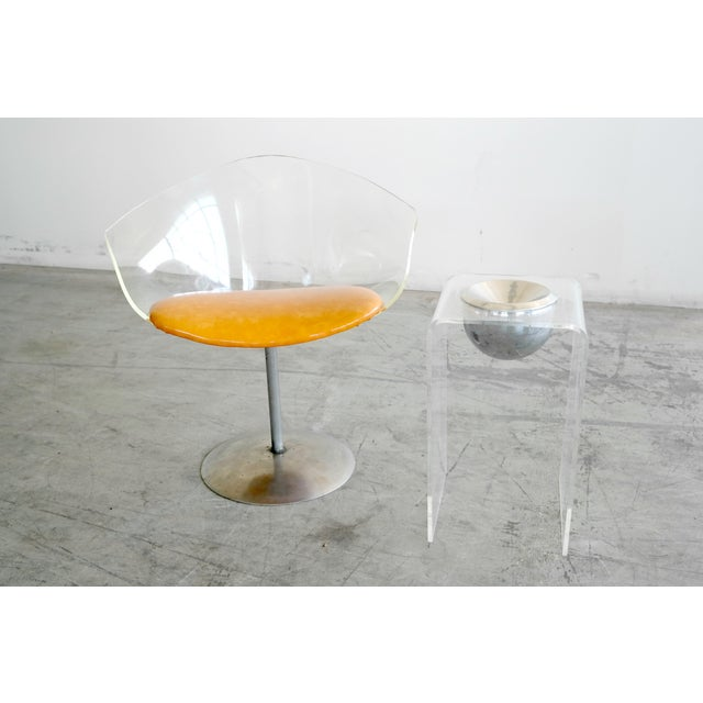 1950's Lucite Chair and Cigarette Placement Piece - Image 2 of 8