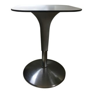 Contemporary Rexite Square Side Table For Sale