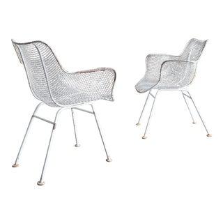 "Original Pair of Russell Woodard ""Sculptura"" Armchairs For Sale"