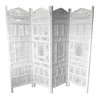 1960s Vintage Moroccan Style Screen For Sale