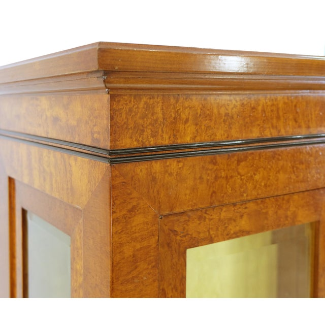 Early 21st Century Neoclassical Style Vitrine on Chest From Rho Mobili D' Epoca of Italy For Sale - Image 5 of 7