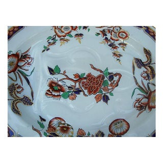 Antique Imari Chinoiserie Copeland Spode Ironstone Meat Platter Preview