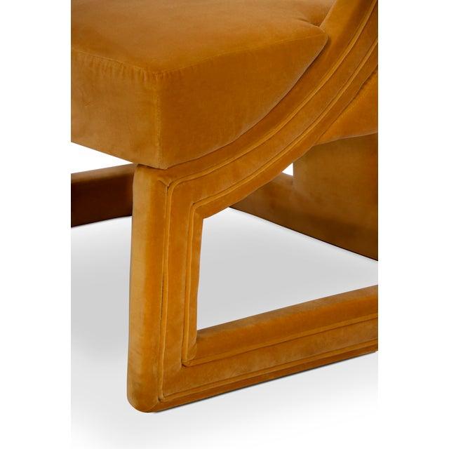 Gold Covet Paris Batak Bold Armchair For Sale - Image 8 of 10