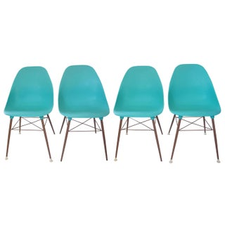 Sam Avedon Plastic Chairs - Set of 4