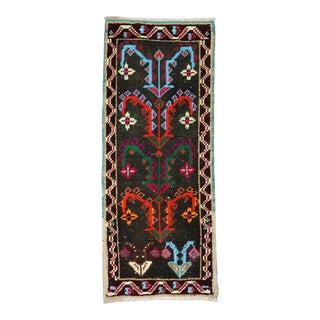 Colorful Mini Turkish Rug, 1'2'' X 3' For Sale