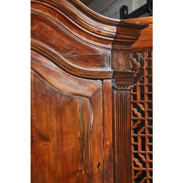 Louis XVI 18th Century Danish Louis XVI Pine Two-Door Cabinet For Sale - Image 3 of 10