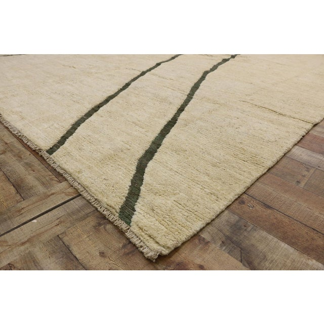 80523 Contemporary Moroccan Area Rug - 10'02 X 13'10 For Sale In Dallas - Image 6 of 10