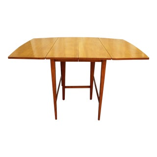 Mid-Century Modern Paul McCobb Planner Group Drop Leaf Dining Table For Sale