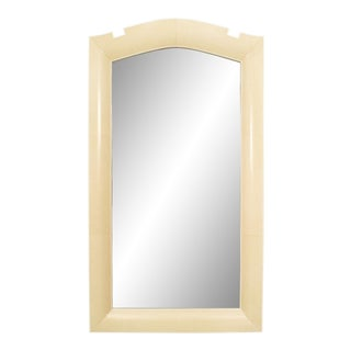 French Art Deco Parchment Wall Mirrors For Sale