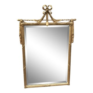 20th Century Tradtional Friedman Brothers Gold Wall Mirror