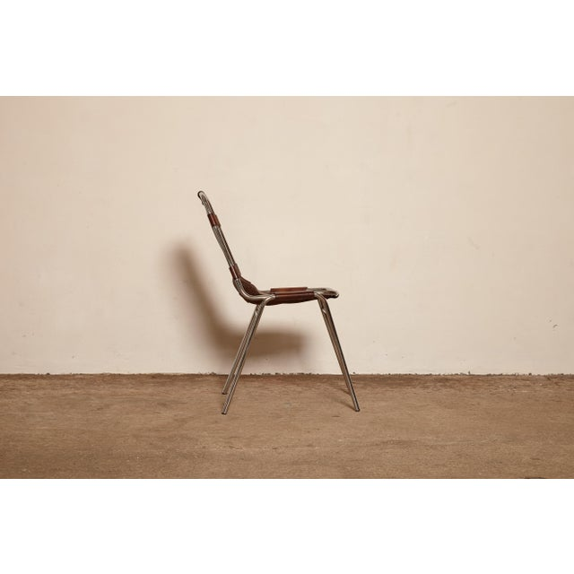 Vintage Mid Century Les Arcs' Chairs Selected by Charlotte Perriand For Sale In Philadelphia - Image 6 of 9