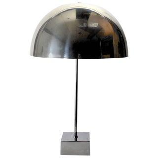 Chrome Mushroom Lamp by Paul Mayen for Habitat For Sale