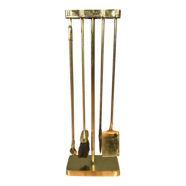 Vintage virginia metalcrafters minimalist brass fireplace tools vintage virginia metalcrafters minimalist brass fireplace tools teraionfo