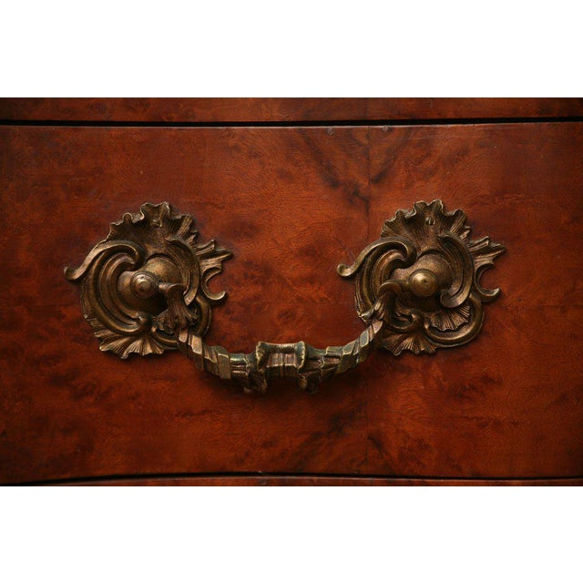 Antique Louis XV Chest of Drawers With Verona Marble Top For Sale In Miami - Image 6 of 10