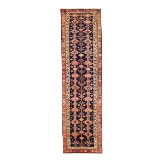1950s Persian Runner Rug Azarbaijan Design For Sale