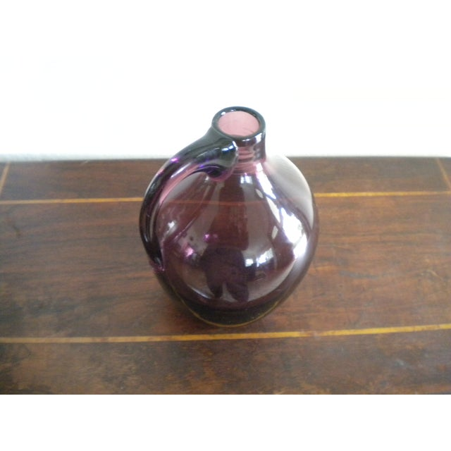 Vintage Hand-Blown Glass Jug - Image 3 of 4