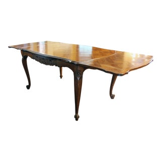 French Oak Draw Leaf Table For Sale