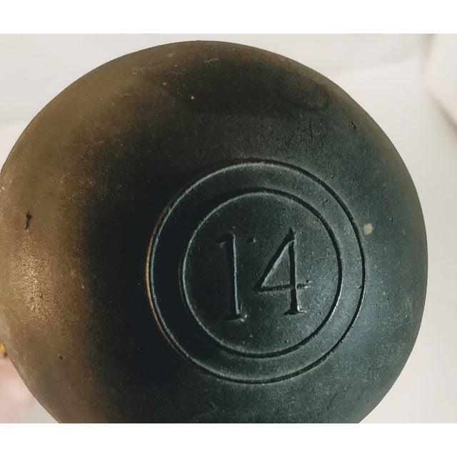 Vintage Brass & Rubber Car Horn For Sale - Image 4 of 10