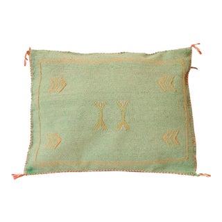 Cactus Silk Sabra Moroccan Pillow Cover For Sale