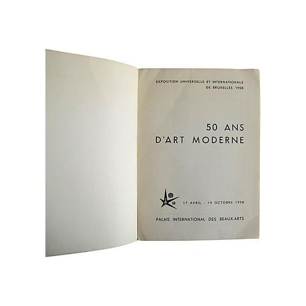 50 Ans d'Art Moderne, French Book - Image 2 of 4