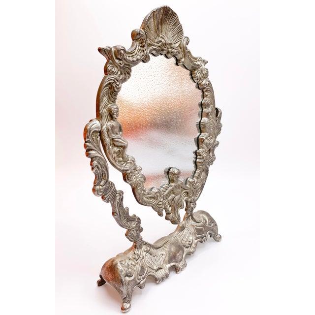 Art Nouveau Art Nouveau Dressing Table Mirror For Sale - Image 3 of 9