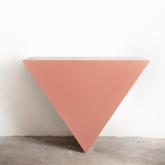 Not Yet Made - Made To Order Contemporary Single Triangle Console by Cuff Studio For Sale - Image 5 of 5