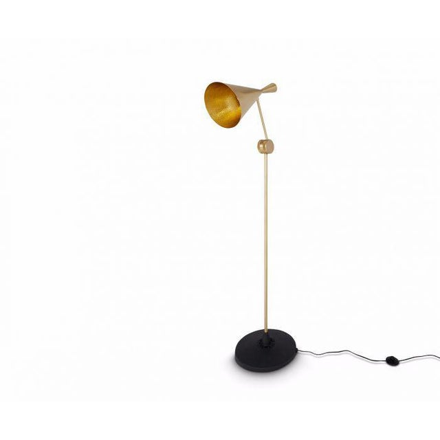 Tom Dixon Tom Dixon Beat Floor Lamp Brass For Sale - Image 4 of 6