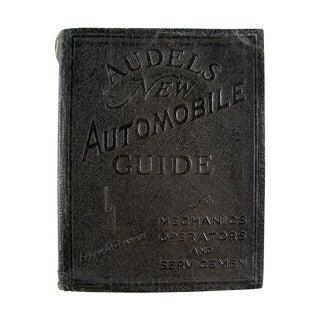 Vintage 1940 Audel's New Automobile Guide Book