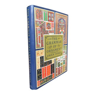 Grammar of Ornament by Owen Jones For Sale