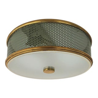 1960s Maison Arlus Flush Mount For Sale